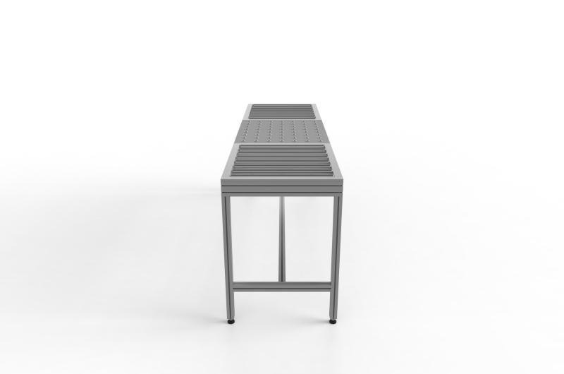 Tavoli con rulliera 14