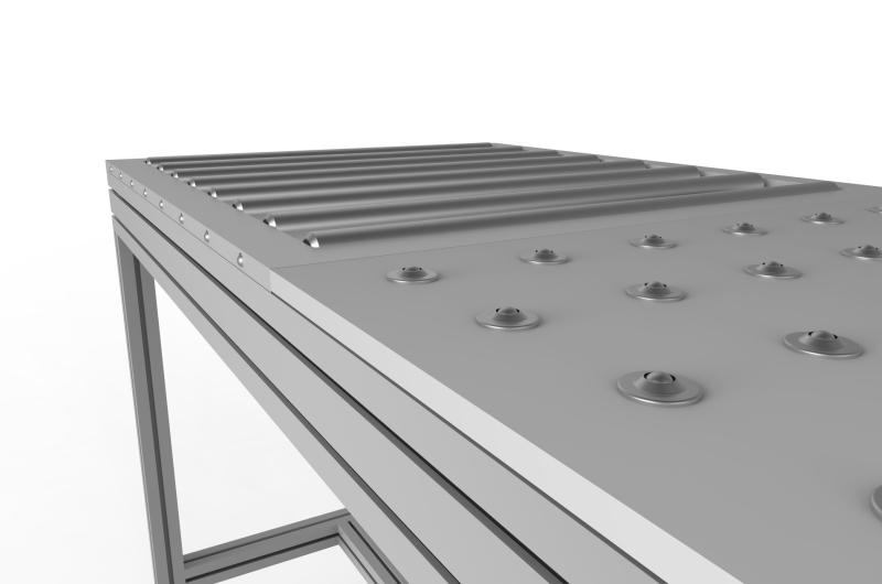 Tavoli con rulliera 15